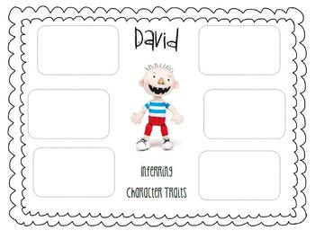Character Traits using No David! books by PLT