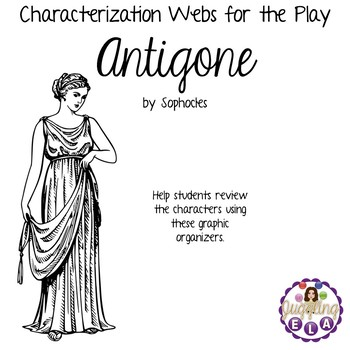 Characterization Webs for Antigone by Sophocles by