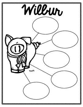 Charlotte's Web Graphic Organizers FREEBIE by Learn Lead