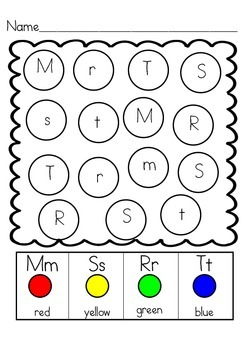 Chews the Letter: Spiral Review Activities for