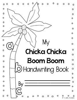 Chicka Chicka ABC Handwriting Book by Pocketful of Centers