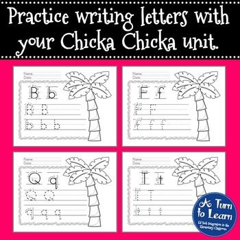 Chicka Chicka Boom Boom Alphabet/Handwriting Book by A