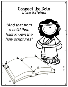 Children of the Bible Series. Timothy. Worksheets
