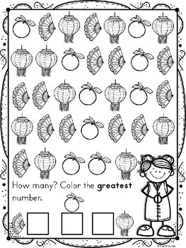 Chinese New Year 2019 Counting Practice by Kindergarten