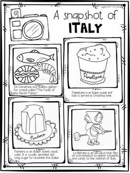 Christmas Around The World {Italy} FREEBIE by Tweet