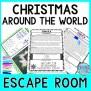 Christmas Around The World Escape Room December Fun