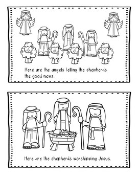 Christmas Bible Lesson Angels and Shepherds (All About