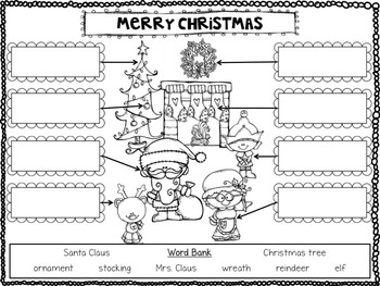Christmas Cheer {25 NO PREP Literacy Activities} by