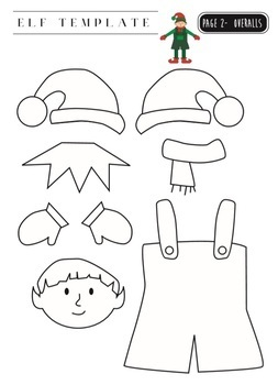Christmas Elf and Angel Yourself Template by