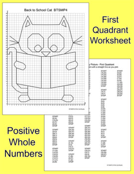 Coordinate Graphing Pictures All Year Bundle: Winter Math