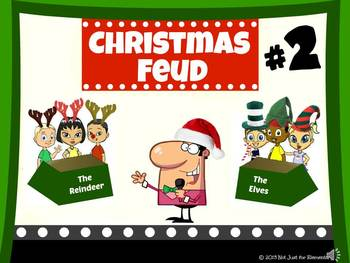 christmas feud powerpoint game