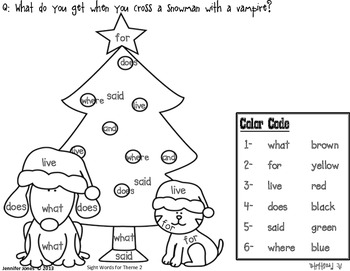 Christmas First Grade Mini by Jennifer Jones