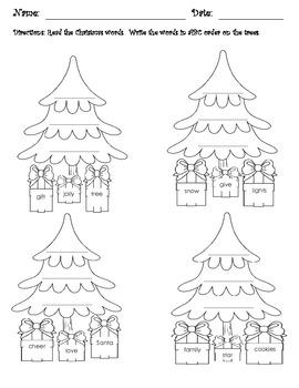 Christmas Fun Bundle {Fun First Grade Christmas Worksheets