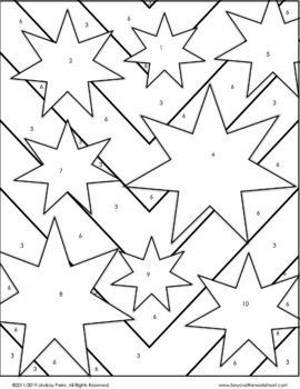 Probability and Simulations Coloring Page by Lindsay Perro