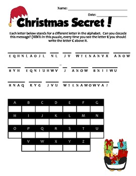 Christmas Holiday-Themed Brain Teasers Enrichment Puzzles