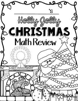 Christmas Math: Worksheets: Christmas 4th Grade: Math