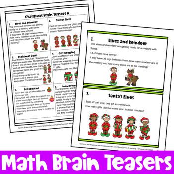 Christmas Activities: Christmas Math Games and More for
