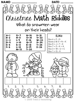 Picture Riddles Christmas : Christmas riddles and jokes #