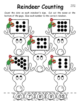 Christmas Math and Literacy Activities Sampler Pack by