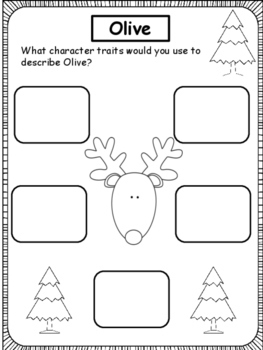 Christmas: Olive, The Other Reindeer and Expository Text