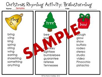 Christmas Poetry Rhyming Activity Amp Writing Couplets By