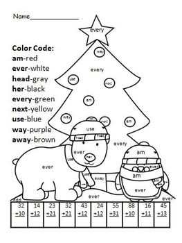 Christmas Worksheets and Centers (bell ringers, story