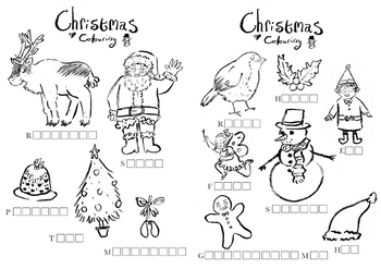 Christmas Activity Sheets And Cue Cards By Little Ragdoll Cat Tpt