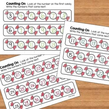 Christmas and December Kindergarten Math Activities and