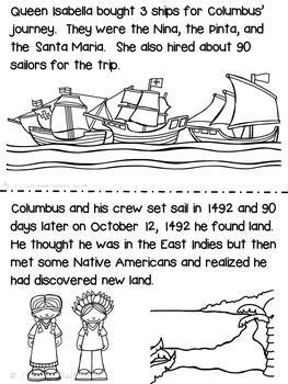 Columbus Day Activities / Christopher Columbus VA SOL 2.4a