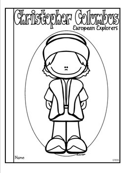 Christopher Columbus Tab Booklet by Classroom