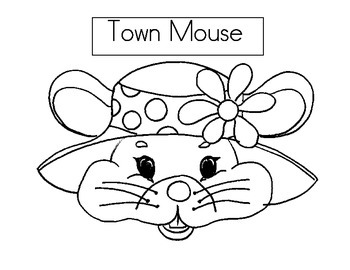 City Mouse and Country Mouse hat by Keepsake Kindergarten