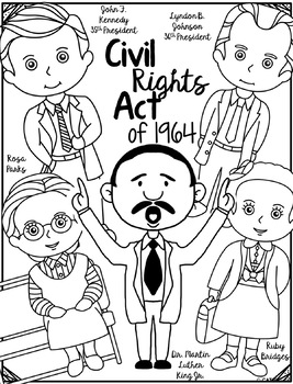 Civil Rights Act, Research Project, Flip Book, Writing