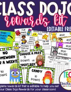 also class dojo rewards kit editable by jessica  vicknair tpt rh teacherspayteachers