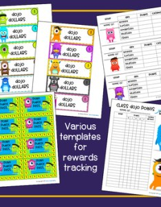 Class dojo rewards kit editable also tpt rh teacherspayteachers