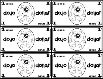 Class Dojo Rewards Pack & Dojo Dollars by Leticia Gallegos