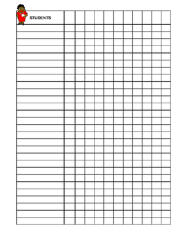 Class List Grid Template by Simple Suggestions by Scottie