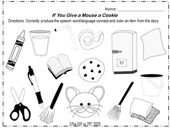 Classic Children's Books: Open Ended Worksheets for Speech