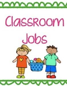 Classroom job chart cards also by the very busy kindergarten rh teacherspayteachers