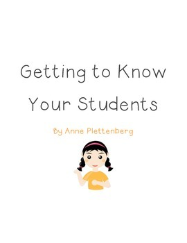 Classroom Management: Getting to Know Your Students by