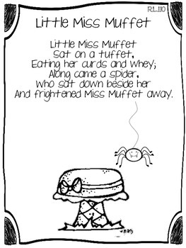 Close Reading with Nursery Rhymes FREEBIE by Thrills and