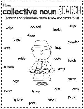 Collective Noun Sort By Rock Paper Scissors
