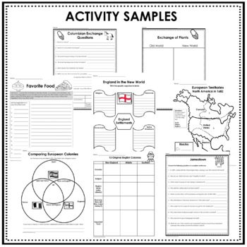 Colony Unit, Colonial America with Informational Text, 13