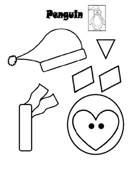 Christmas Cut And Paste Activities For Preschoolers