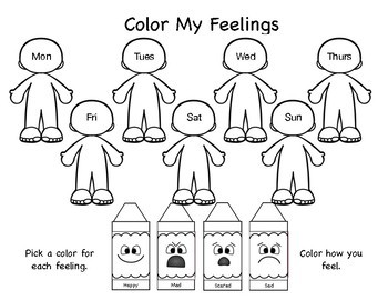 Color My Feelings: Tracking Emotions by Positive
