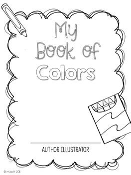 Color Themed Vocabulary and Writing in English and Spanish
