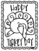 Color by Sight Words + Coloring Pages, Thanksgiving Theme