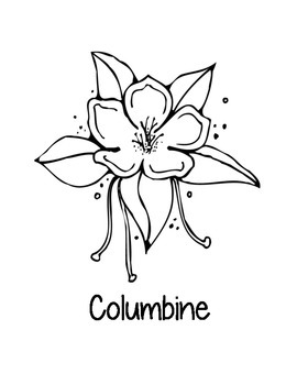 Colorado State Coloring Pages by Loving Life in