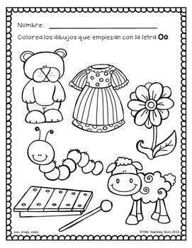 Colorea Vocales por Sonido Inicial: Pre-K (Gratis) by TINC