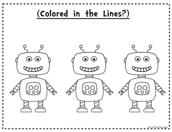 Coloring Rubric for the Primary Classroom {How Does My