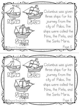 Columbus Day Activities and Printables by Beyond